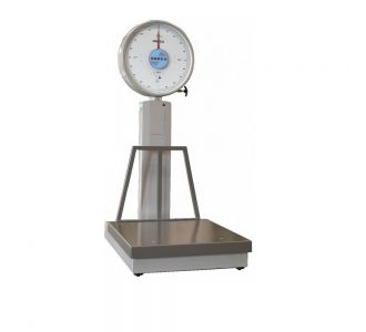 Odeca 2000Kg Mechanical Floor Scale With Wheels