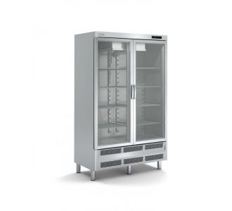 Docriluc AR-125-2-E Snack Chiller Cabinet With Glass Door 230v-50Hz-322w
