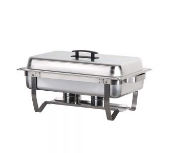 Cookrite AT731L63-2 Economy Series Oblong Chafing Dish Twin Pan