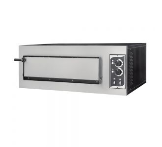 Prismafood Basic 1/50 - Professional Electric Oven - 2 Pizzas ø 30 Cm - 230V - 3.75 Kw