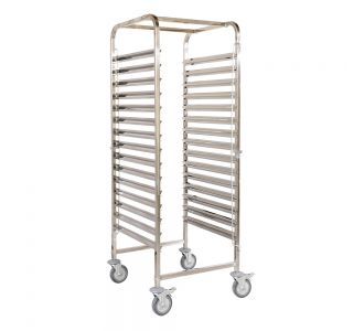 Arisco C215M1 - Container Trolley - Stainless Steel - Up to 15 GN 1/1