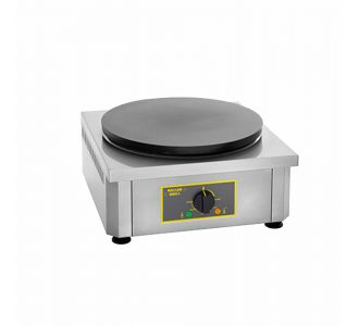 Roller Grill CSE 350 - Professional Electric Crepe Maker - 1 Plate of 350 mm - 450x500x240 - 3Kw