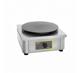 Roller Grill CSE 400 - Professional Electric Crepe Maker - 1 Plate of 400 mm - 450x500x240 - 3.6Kw