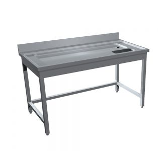 TOMADO STAINLESS STEEL MEAT FISH SINK - 140Wx70Dx90H/ Cm