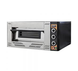 Prismafood G4 - Professional Gas Oven - 4 Pizzas ø 30 Cm - 230 V - 13.9 Kw