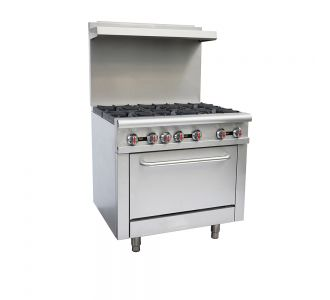HDS GR-36 Gas Burners with oven - 211,000 BTU