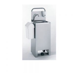 Tournus 806517 Free Standing  Self Contained  Hand Wash Basin - Foot operated