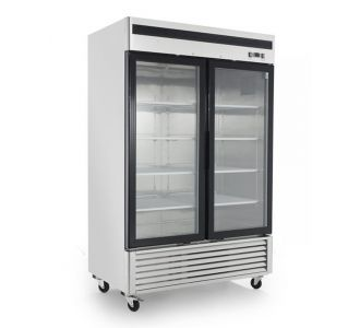 Royal Refrigeration MCF8703 Double Glass door reach-in Freezer 220v 50Hz, 3.9A