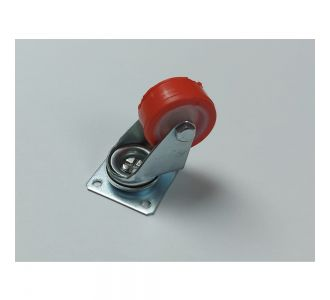 TECNORUOTE DIAMETER 4CM CASTERS WITHOUT FRAME ZINC PLATED