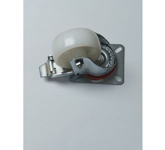 Tecnoruote Diameter 8cm Casters With Frame Zinc Plated