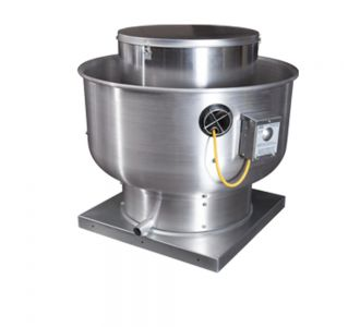 Captive Air DU85HFA High Speed Direct Drive Centrifugal Upblast Exhaust Fan with speed control-220v/50Hz-9.8A