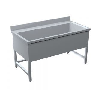 TOMADO STAINLESS STEEL POT WASH SINK - 140Wx70Dx90H/ Cm