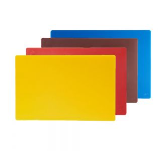 Set of 4 Cutting Boards, for Chicken, Meat, cooked meat and Fish 60x40x2cm