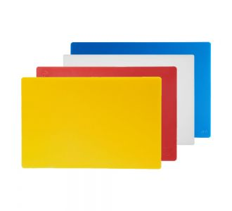 Set of 4 Cutting Boards, for Chicken, Meat, Dairy and Fish 60x40x2cm