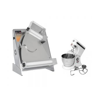Prismafood 310 TG Dough Sheeter with a Free 5 Liters Dough Mixer with 3 hooks  50/60 Hz
